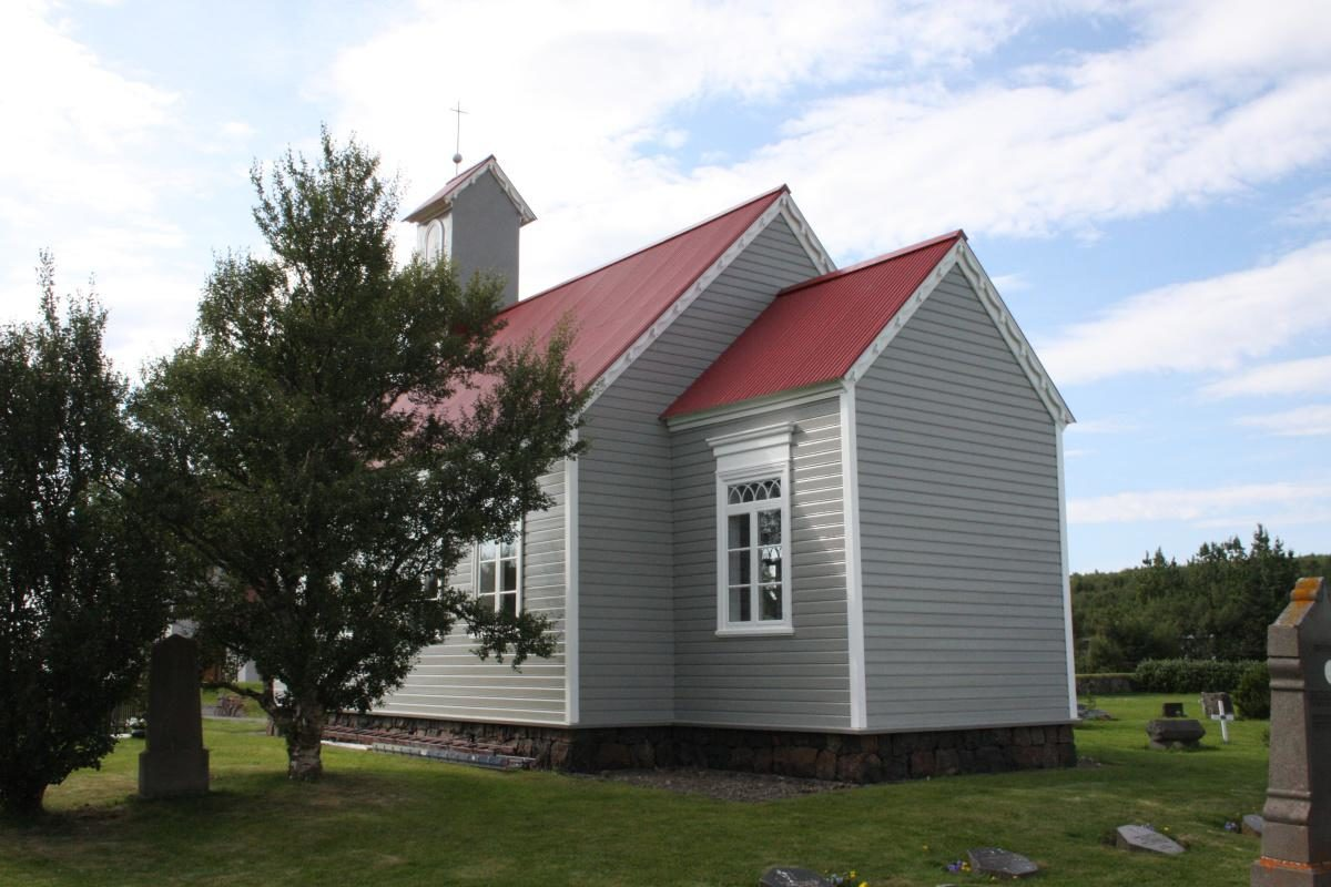 The Church of Reykholt
