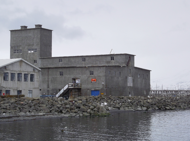 The Herring Factory at Hjalteyri