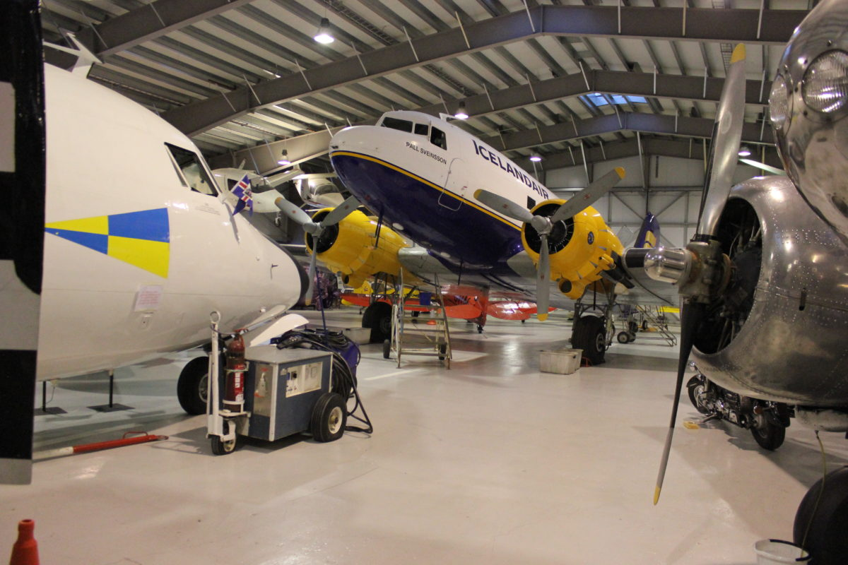 The Aviation museum of Iceland