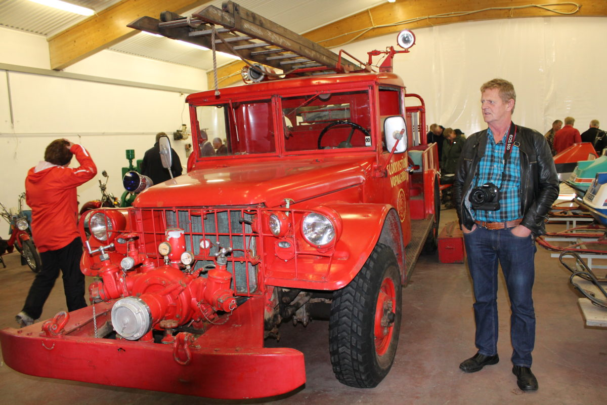 Transport and machinery exhibition in Vopnafjörður