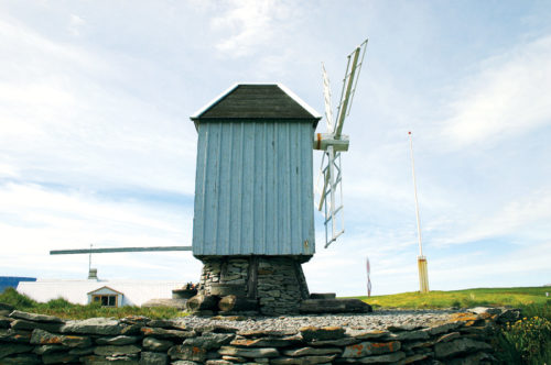 The Windmill in Vigur